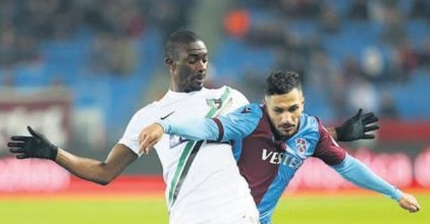 Trabzonspor'un jokeri Kamil Ahmet