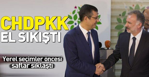 Yerel seçimler öncesi CHP ile HDP flörtü