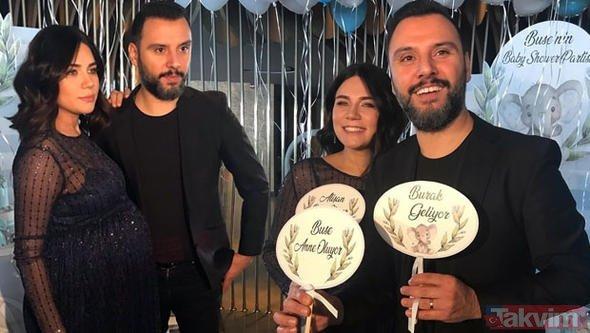 Buse Varol Tektaş ile Alişan Tektaş baby shower partisi düzenledi!