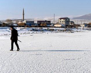 Doğu Anadolu buz kesti! İşte kış manzaraları...