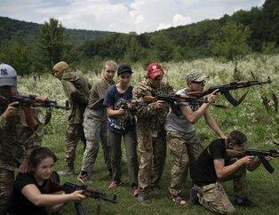 8 yaşındaki çocuklara silahlı eğitim tartışma yarattı