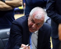 Zeljko Obradovic oyuncularına küfür yağdırdı!