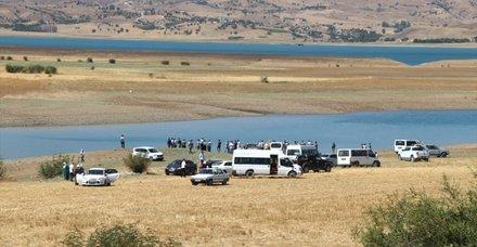 Son dakika: Diyarbakır'da baraj gölüne giren 4 kadın boğuldu