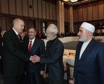 Başkan Erdoğan kanaat önderlerini kabul etti
