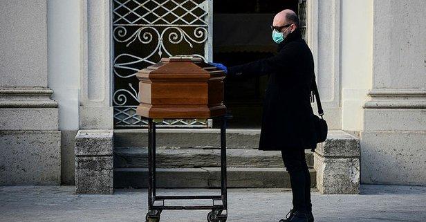 İtalya'da ölümler vahim boyutta