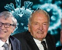 Koronavirüsün arkasında Bill Gates, Soros ve Rockefeller mi var?