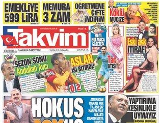 Günün öne çıkan gazete manşetleri | 7 Kasım 2018 Çarşamba