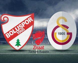 Boluspor - Galatasaray maçı hangi kanalda?