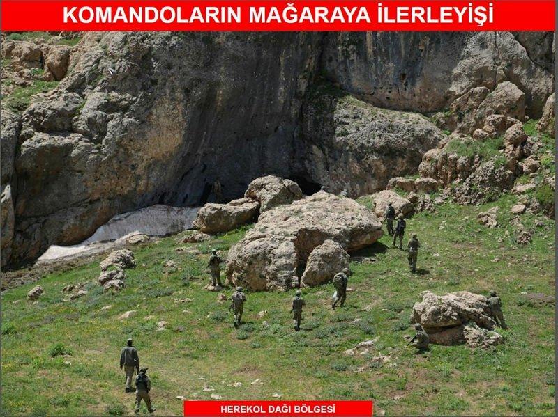 Siirt'te PKK'lı kalleşlerin inlerine girildi!