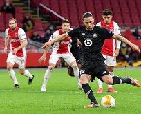Yusuf Yazıcı attı ama Lille yine kazanamadı