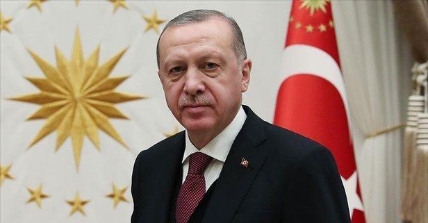 Başkan Erdoğan'dan şehit ailesine taziye mesajı