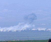 Türk savaş uçakları Cinderes'i bombalıyor