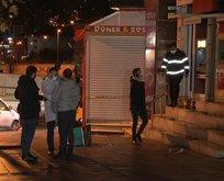 İstanbul'da panik anları! ATM cayır cayır yandı