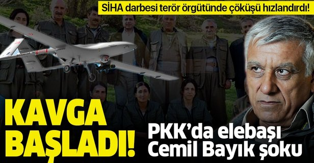 PKK'da terörist elebaşı Cemil Bayık şoku!