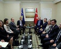 Başkan Erdoğan'dan üst düzey görüşmeler