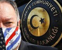 Türkiye'den Pompeo'ya sert tepki
