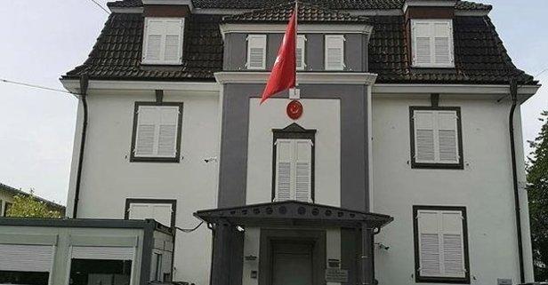 Türk konsolosluğuna hain saldırı