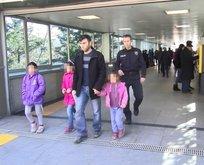Kızlarını metro raylarına bırakmıştı! O babanın cezası belli oldu....