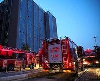 İstanbul'da hastanede yangın
