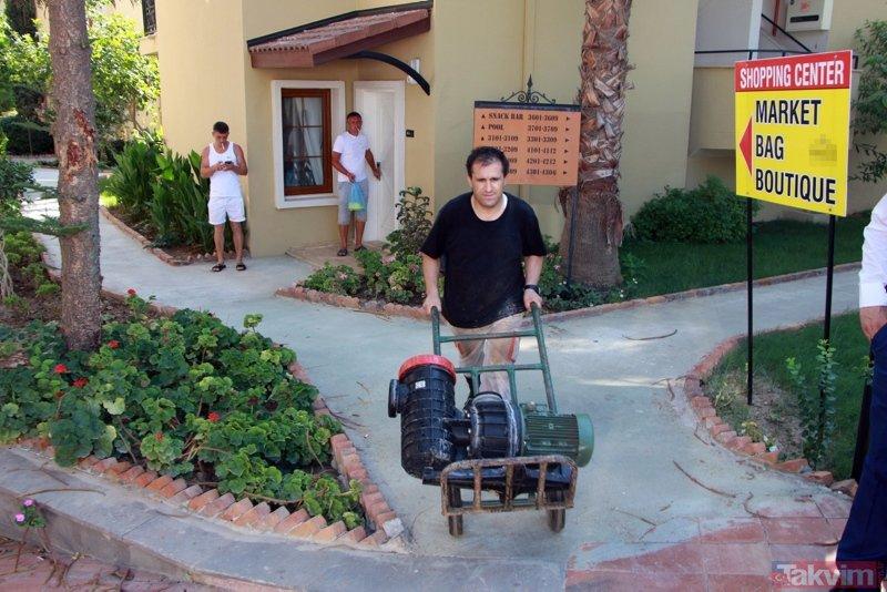Antalya'da 4 yıldızlı otele haciz! Turistler şaşkınlıkla izledi