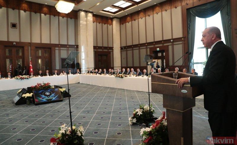 Başkan Erdoğan büyükşehir belediye başkanları ile buluştu