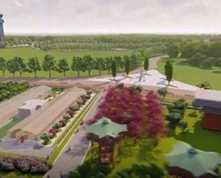 Erdoğan  Millet Bahçesi proje animasyonunu izletti