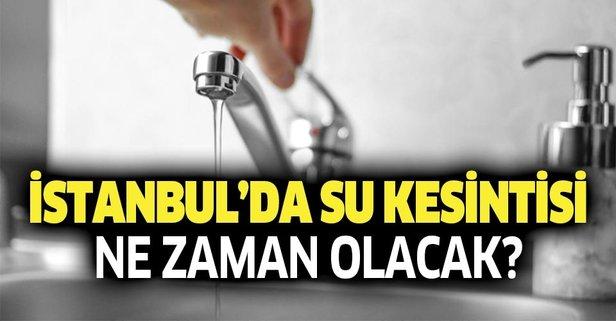 Son Dakika Istanbul Da 20 Saat Su Kesintisi Istanbul Su