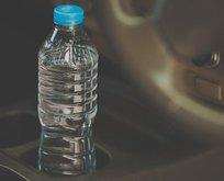 Arabada bırakılan şişelere dikkat!