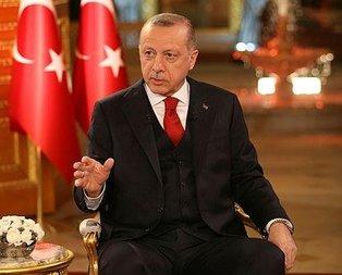 Başkan Erdoğan'dan canlı yayında kritik açıklamalar