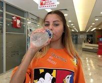İki yıl sonra ilk kez su içti! Antalya'da...