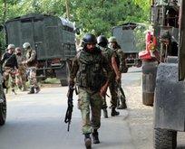 Cammu Keşmir'de Hintlilerle çatışma: Ölüler var