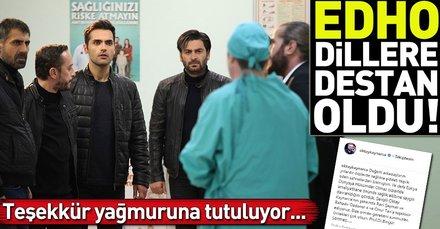 Eşkıya Dünyaya Hükümdar Olmaz sağlık çalışanlarının takdirini aldı! EDHO son bölüm dillere desten oldu!