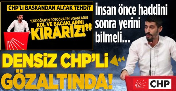 CHP'li Odabaşıoğlu gözaltına alındı!