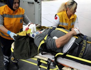 Ereğlide korkunç kaza! 4 kişi yaralandı
