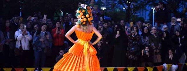 Gören bir kez daha baktı! İşte Uluslararası  Narenciye Festivali'nden renkli kareler...