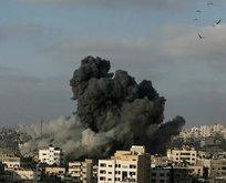 İsrail jetleri Gazzeyi vurdu!