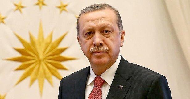 Erdoğan'dan Kütahyalılara tebrik mesajı