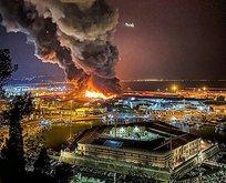 İtalya'da korkutan yangın! Kullanılamaz hale geldi