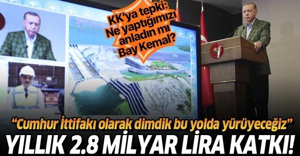 Ilısu Barajı'nda üretim başladı!