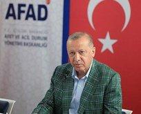 Başkan Erdoğan son durumu açıkladı
