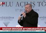 Başkan Erdoğan Afyon'da açıkladı: Kılıçdaroğlu'dan kazandığımız tazminatları Mehmetçik Vakfı'na hibe edeceğiz