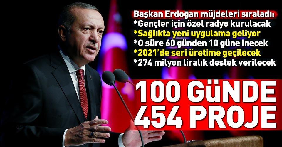 Başkan Erdoğan, ikinci 100 günlük eylem planını açıkladı