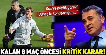 Beşiktaş Başkanı Fikret Orman: Guti'ye şans vereceğiz