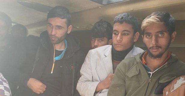 Ankara'da 68 düzensiz göçmen yakalandı
