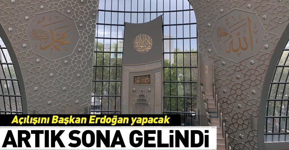 Başkan Erdoğan açılışını yapacak!