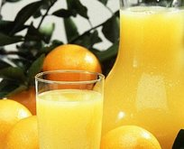 Portakal suyu kansızlığın sonu