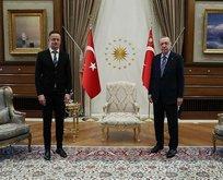 Başkan Erdoğan'dan önemli kabul!