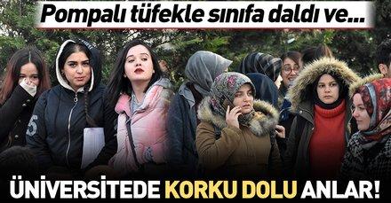 Konya'da Selçuk Üniversitesi'nde intihar girişimi!