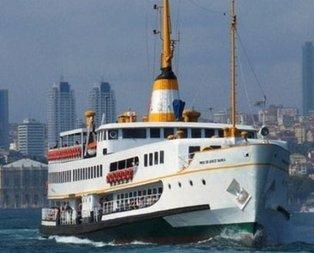 İstanbulda bazı vapur seferleri iptal edildi