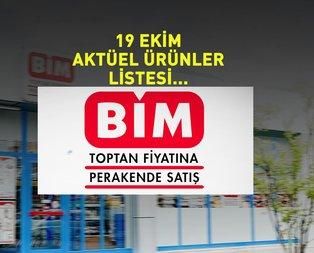 BİM 19 Ekim aktüel ürünler fiyat listesi: BİM Market indirimli ürünler listesi yayınlandı